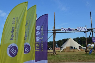 Together 2014: camp entrance