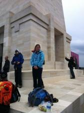 Nicky Strachan in Gallipoli